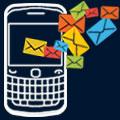 Online SMS BlackBerry icon